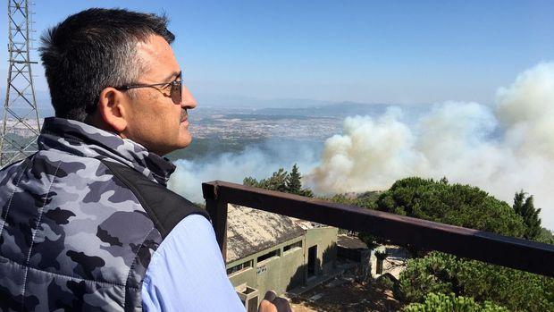 Pakdemirli: Orman yangınlarıyla mücadelede bu yıl daha başarılıyız