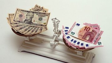 Euro/dolar volatilitesi 6 ayın zirvesini gördü
