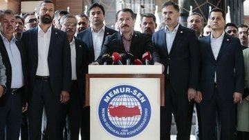 Memur-Sen Ankara'da iş bırakma kararı aldı