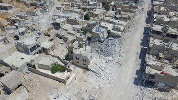 İdlib'deki kilit ilçe rejimin kontrolüne geçti