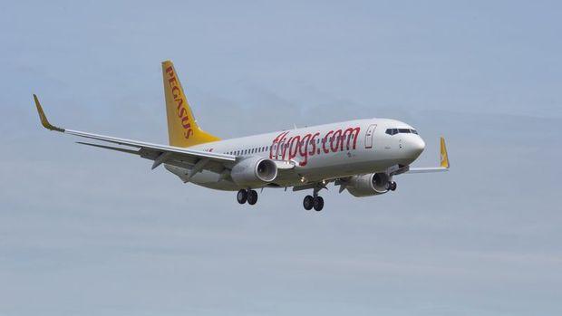 Pegasus yolcu sayısı Temmuz'da yıllık % 2.4 azaldı