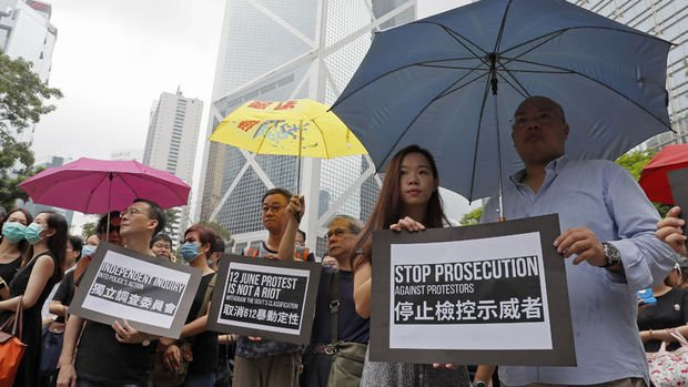 Harvard ekonomisti: Hong Kong'daki olaylar küresel resesyonu tetikleyebilir