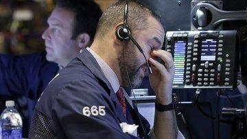 ABD borsaları ticaret savaşına teslim