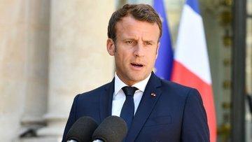 Macron'dan G7 Zirvesi'nde açıklamalar
