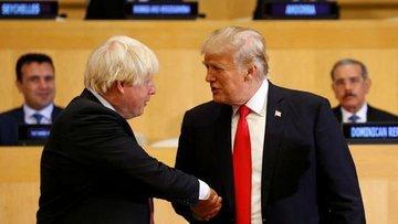 Trump: İngiltere ile çok büyük bir ticaret anlaşması yapa...