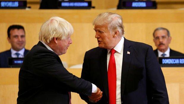 Trump: İngiltere ile çok büyük bir ticaret anlaşması yapacağız