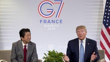 Trump Japonya ile 'büyük bir ticaret anlaşması' yapıldığı...