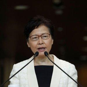 HONG KONG LİDERİNİN İADE YASASINI GERİ ÇEKECEĞİ BELİRTİLDİ