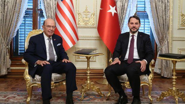 Albayrak: ABD Ticaret Bakanı Ross ile verimli bir görüşme gerçekleştirdik