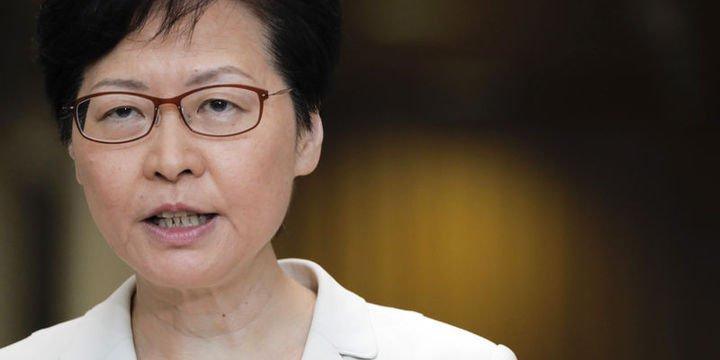 Hong Kong yönetiminden ABD