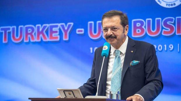TOBB/Hisarcıklıoğlu: Türkiye-ABD Serbest Ticaret Anlaşması imzalanmalı