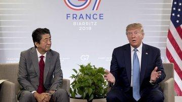 Trump ABD ve Japonya'nın ticaret anlaşması yaptığını duyurdu