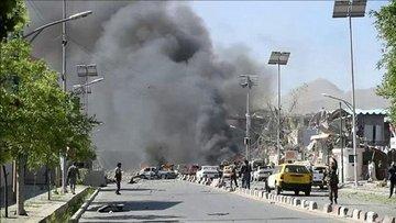 Afganistan Cumhurbaşkanı Gani'nin mitinginde intihar sald...
