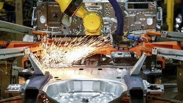 ABD'de sanayi üretimi bir yılın en büyük artışını kaydetti