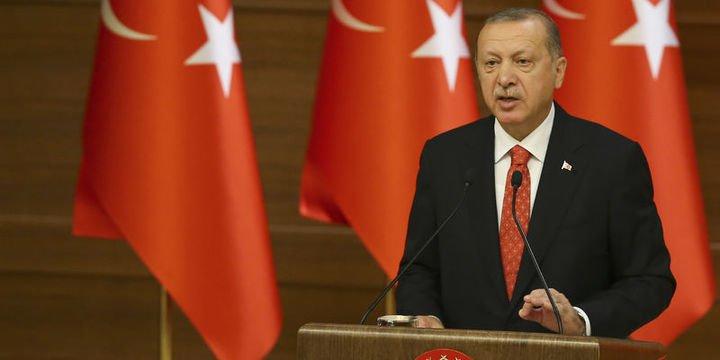 Erdoğan: (Güvenli bölge) İki hafta içinde bir sonuç çıkmazsa kendi hareket planlarımızı devreye sokacağız