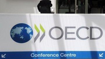 OECD küresel büyüme tahminini düşürdü
