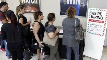 ABD'de işsizlik maaşı başvuruları hafifçe arttı