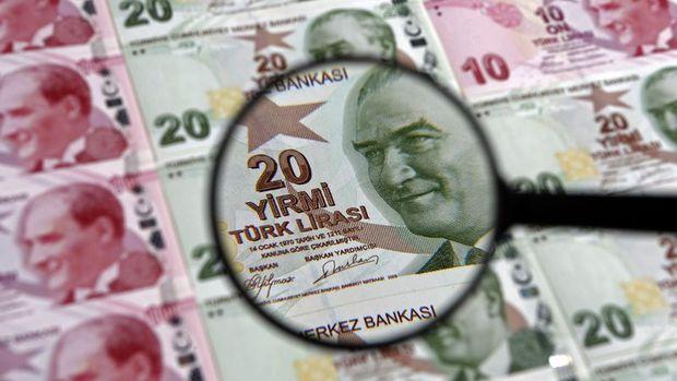 Merkezi yönetim brüt borç stoku Ağustos'ta 1 trilyon 248,3 milyar lira oldu