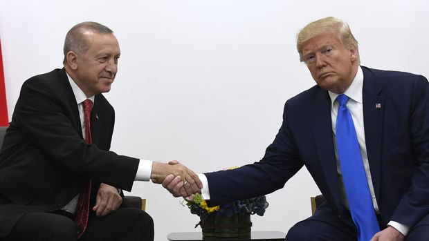 Erdoğan, Trump ile telefonda görüştü