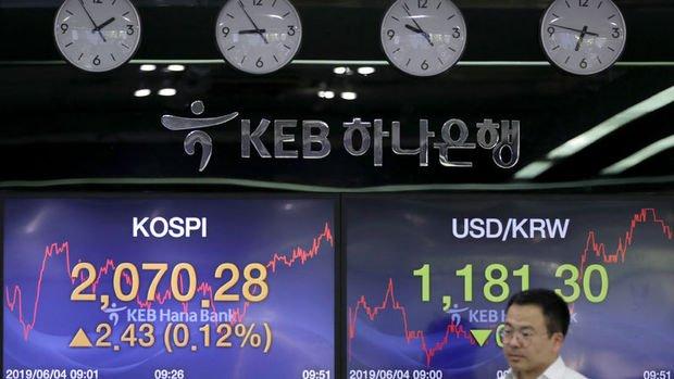 Asya para birimleri won öncülüğünde düştü
