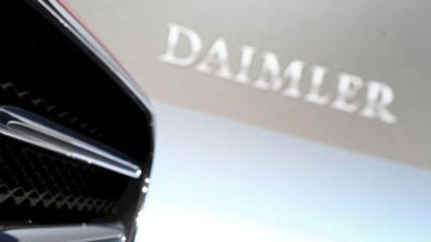 Alman otomobil devi Daimler'e 870 milyon euro para cezası
