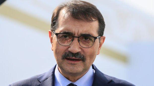 Enerji Bakanı Dönmez deprem ile ilgili açıklamada bulundu