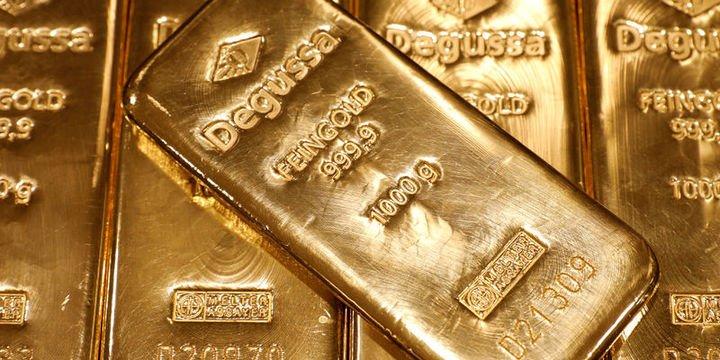 Altın güçlü doların etkisi ile 8 haftanın en düşüğüne indi