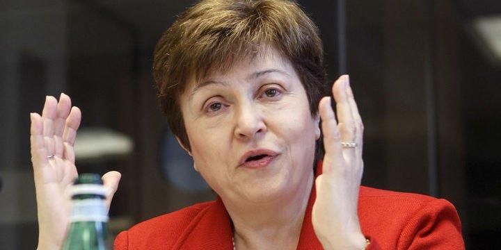 """IMF/Georgieva: Küresel ekonomi """"senkronize yavaşlama"""" ile karşı karşıya"""
