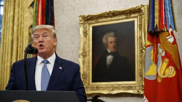 Trump: 50 askerimizi çektik, ABD asla Orta Doğu'da olmamalıydı