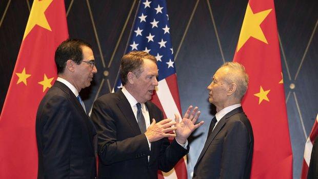 """""""Çin heyeti Washington'ı beklenenden önce terk edebilir"""""""