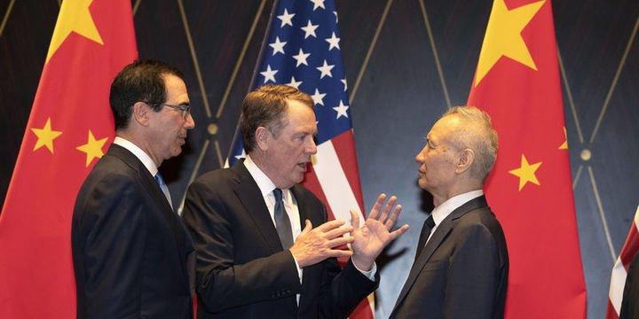 """Çin heyeti Washington"