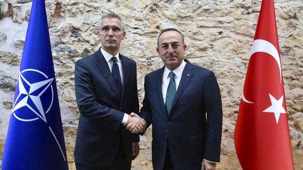 Bakan Çavuşoğlu NATO Genel Sekreteri Stoltenberg ortak basın toplantısı düzenledi