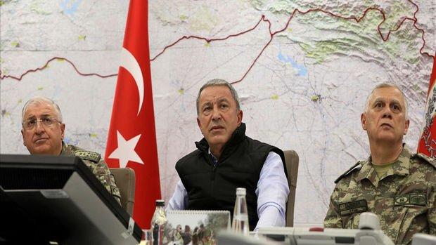 Akar: Harekat planladığımız şekilde başarıyla devam ediyor, 342 terörist etkisiz hale getirildi