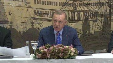Cumhurbaşkanı Erdoğan medya yöneticileriyle bir araya geldi