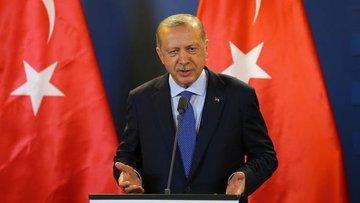 Erdoğan: (Barış Pınarı) ABD'nin güneye çekilmesi olumlu b...