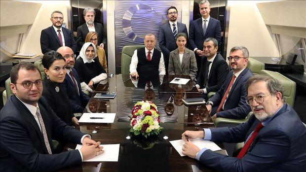 Erdoğan: Hedefimiz belli, yaptırım konusunda endişemiz yok