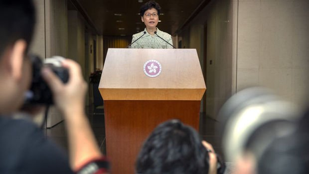 Lam: Hong Kong üçüncü çeyrekte teknik resesyona girdi