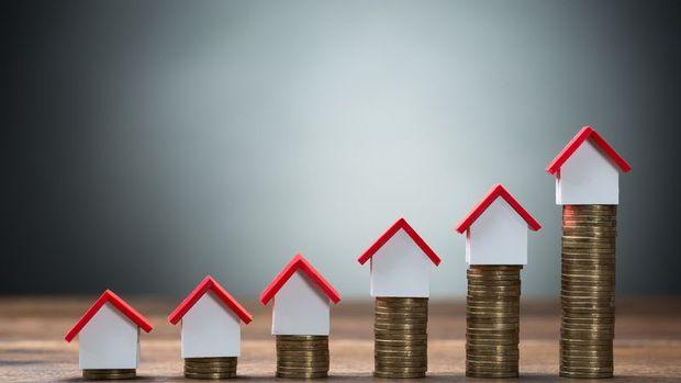 Konut fiyat endeksi Ağustos'ta yıllık % 4 arttı