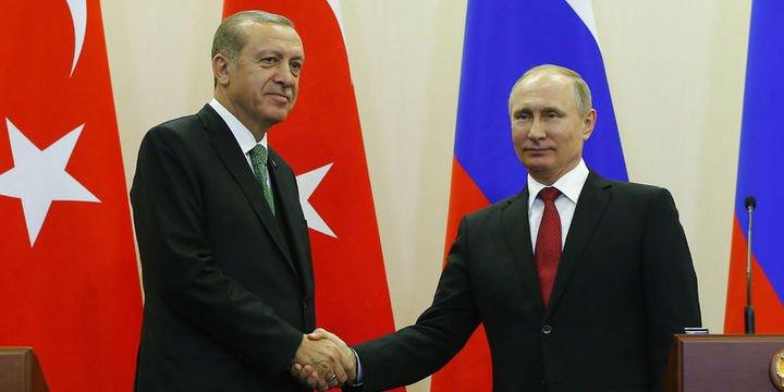 Cumhurbaşkanı Erdoğan Rusya