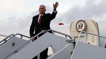 ABD Başkan Yardımcısı Pence Türkiye'de