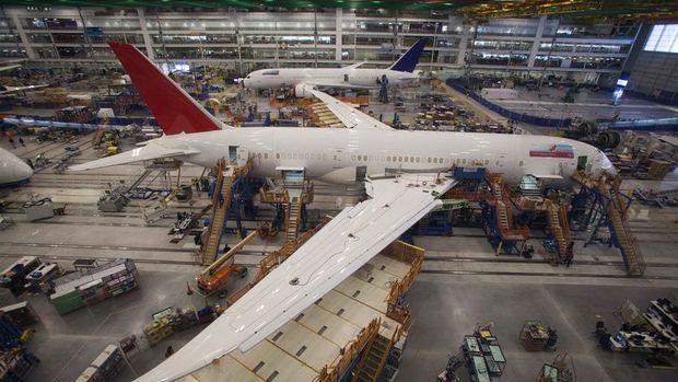 Boeing'in 3. çeyrek hisse başına düzeltilmiş karı beklentiyi karşıladı