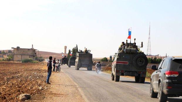 Rusya Suriye'nin kuzeyinde ilk devriyesini yaptı