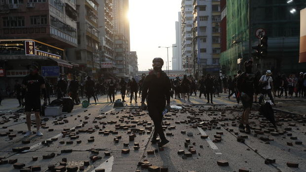 Hong Kong'da protestolar 21. haftaya giriyor