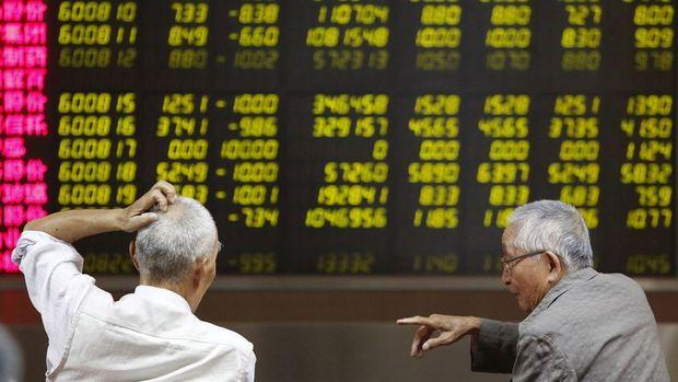 Asya borsaları yoğun veri akışıyla karışık seyretti