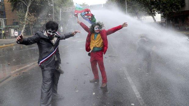 Şili'deki hükümet karşıtı protestolar sürüyor