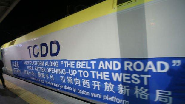 China Railway Express Çin'den yola çıkıp Marmaray'ı kullanarak Avrupa'ya geçti