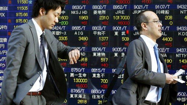Asya borsaları haftanın son gününde karışık seyretti