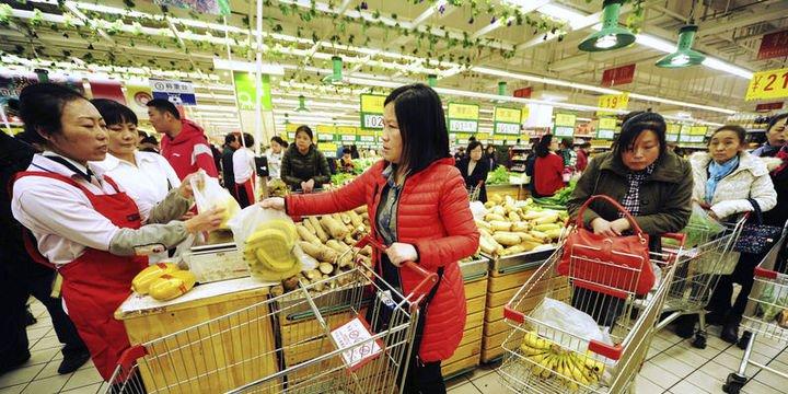 Çin'de enflasyon yedi yılın en yüksek seviyesinde