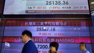 MSCI Hong Kong Endeksi'nde düşüş yüzde 3'e ulaştı