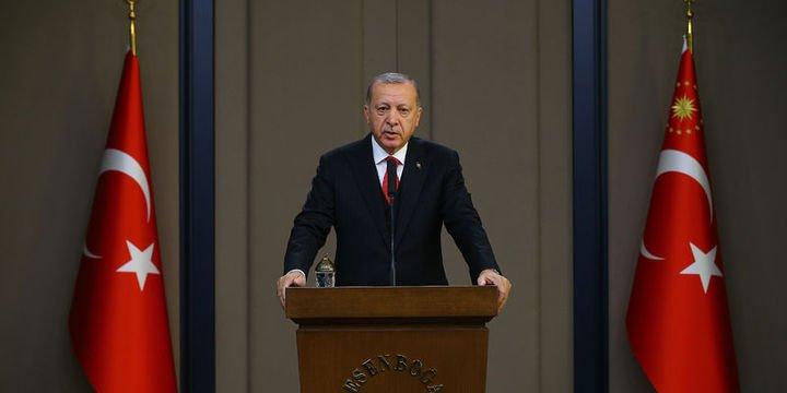 Erdoğan: Bu ziyareti sancılı bir dönemde icra ediyoruz